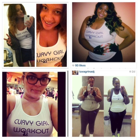 Skinny Minority Curvy Girl Workout Tank, $20 Coming Back This Spring