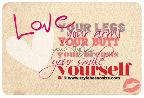 I love My Legs and Hips and Waist! What you you Love About You?