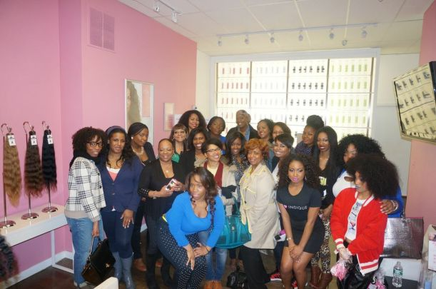 Special Thanks To Indique and all the Ladies Who Came Out To Support