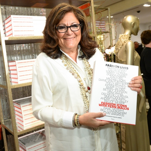 Fashion Lives, Fashion Icons By Fern Mallis | Picture C/o Of Saks.com